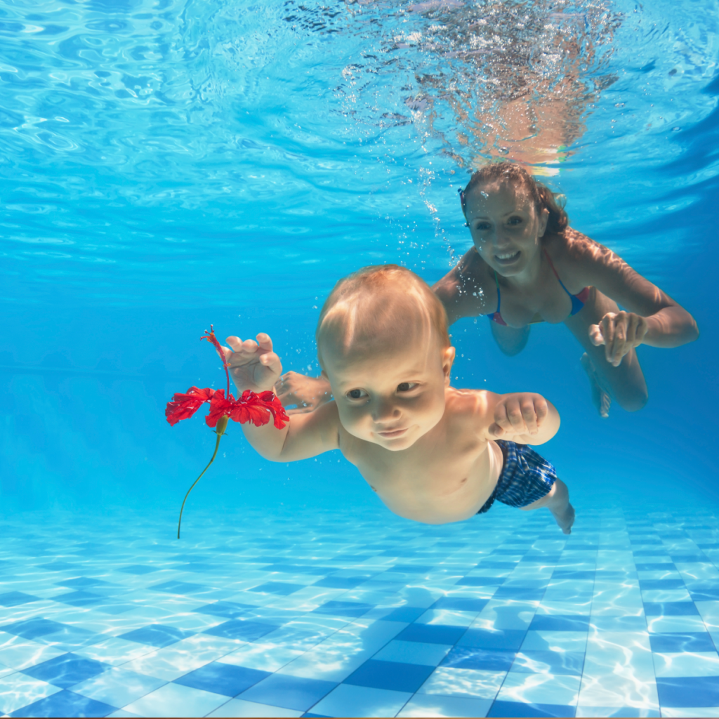 Swimming with your baby my child magazine for Can u get pregnant in a swimming pool