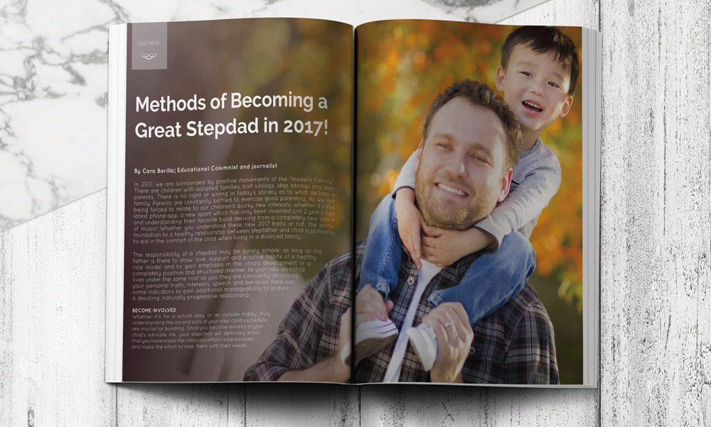Bonding with stepdad