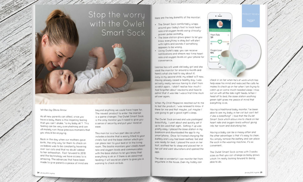 stop the worry with the owlet smart sock my child magazine
