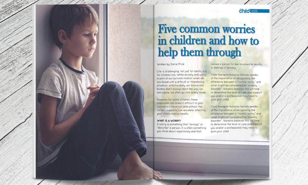 Why Childhood Anxiety Often Goes >> Five Common Worries In Children And How To Help Them Through My